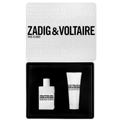 ZADIG & VOLTAIRE THIS IS HER EDP 50ML VAPO + SCENTED BODY LOTION 75ML WOMEN
